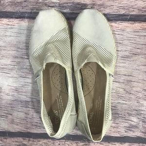 Toms Espadrilles Flats Shoes Womens Size 8 Slip On